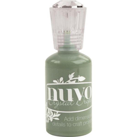 Nuvo Crystal Drops - Olive Brown