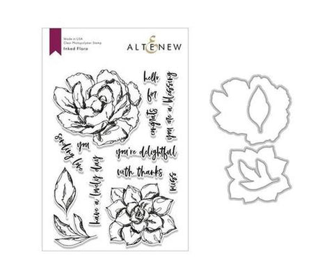 Inked Flora - Stamp & Die Set