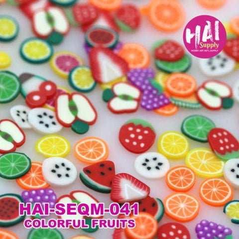 Sequins - Colourful Fruits