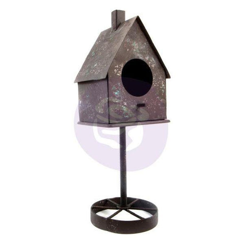 Alterned Metal Frame - Birdhouse