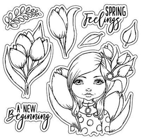 Clear Stamps - A New Beginning