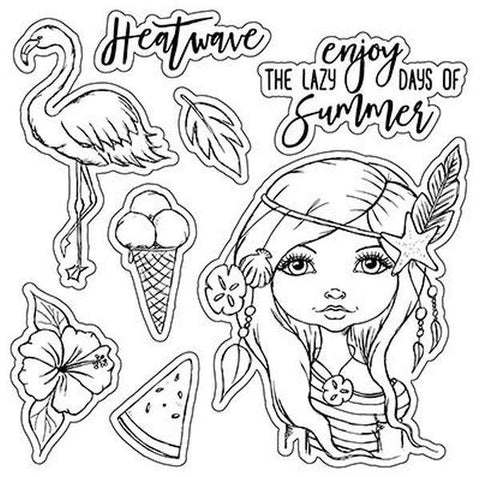 Clear Stamps - Heatwave