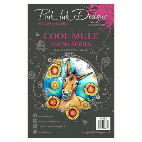 Clear Stamps - Fauna Series - Cool Mule
