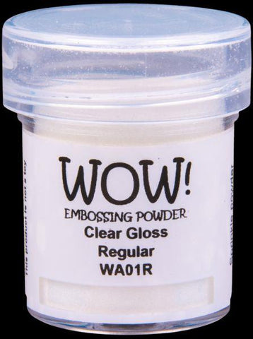 Embossing Powder - Clear Gloss