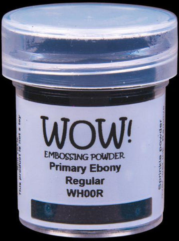 Embossing Powder - Primary Ebony