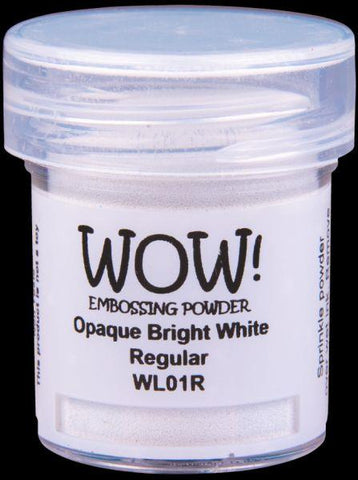 Embossing Powder - Opaque Bright White