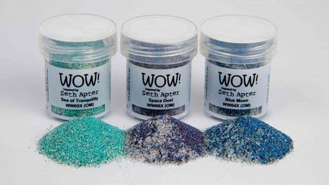 Embossing Powder - Cosmic Trio