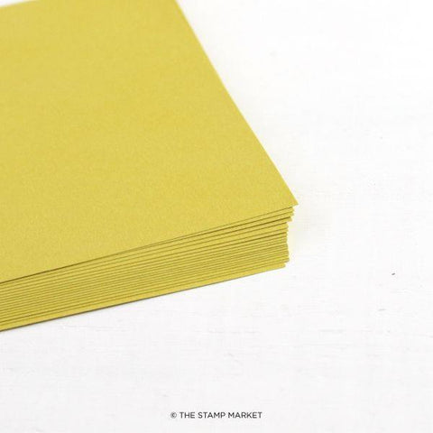 Color Crush - Cardstock - Citrine