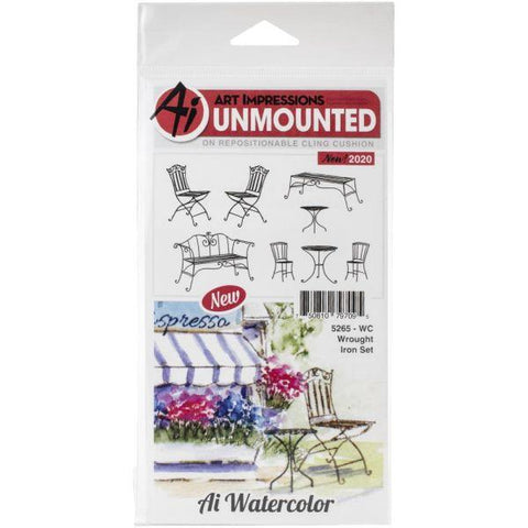 Watercolour Stamps - Wrought Iron Set