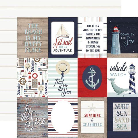 By the Sea - 3x4 Journaling Cards
