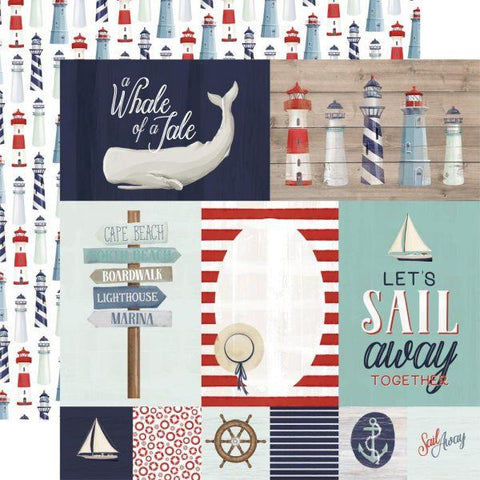 By the Sea - Journaling Cards