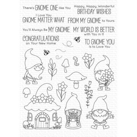 Clear Stamps - Hanging with My Gnomies