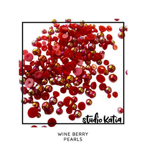Wine Berry Pearls