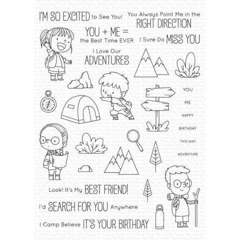 Clear Stamps - Adorable Adventures