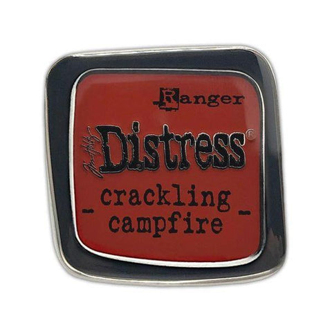 Distress Collector's Pin - Crackling Campfire