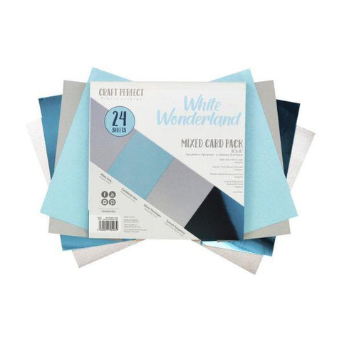 Craft Perfect Specialty Cardstock - White Wonderland