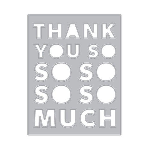 Thank You Message Cover Plate