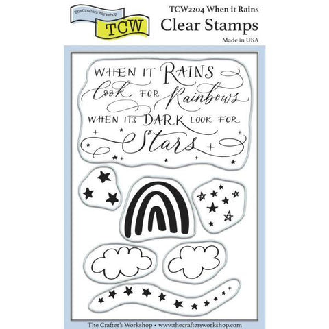 Clear Stamps - When it Rains