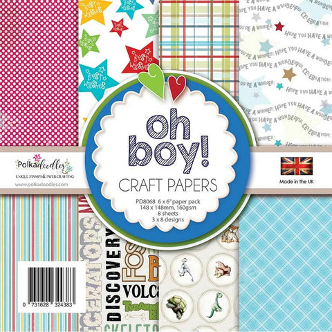 Oh Boy! - 6x6 Paper Pack