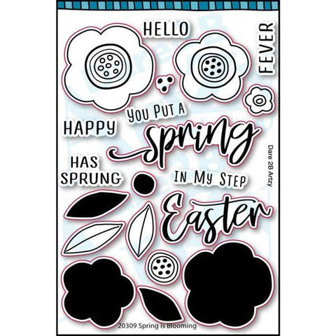 All the Buzz - Clear Stamps - Spring is Blooming