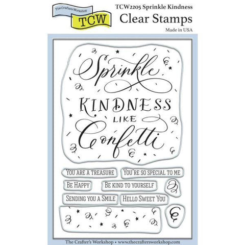 Clear Stamps - Sprinkle Kindness