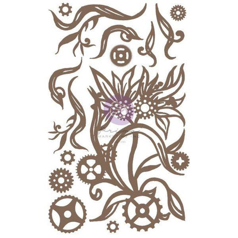 Chipboard - Steampunk Blooms