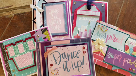 Shimelle - Sparkle City Inspiration Card Kit