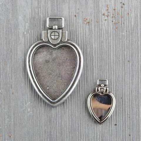 Mechanicals, Heart Locket Pendants