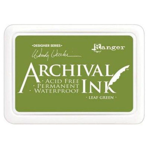 Archival Ink Pad - Leaf Green