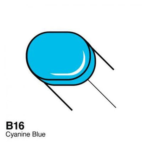 Copic Sketch Marker - B16 - Cyanine Blue