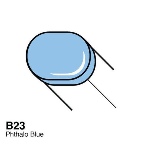 Copic Sketch Marker - B23 - Phthalo Blue