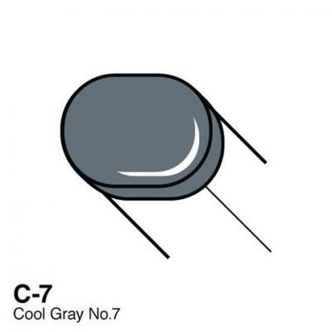 Copic Sketch Marker - C7 - Cool Gray No. 7