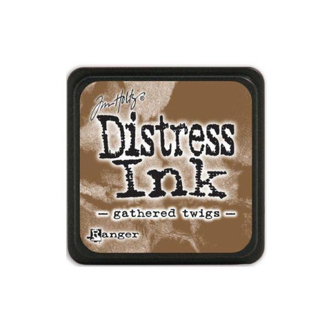 Mini Distress Ink Pad - Gathered Twig
