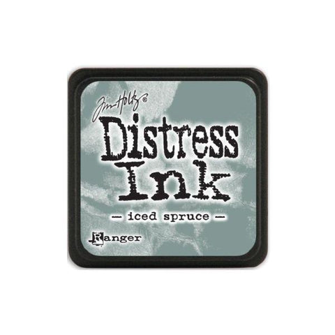 Mini Distress Ink Pad - Iced Spruce
