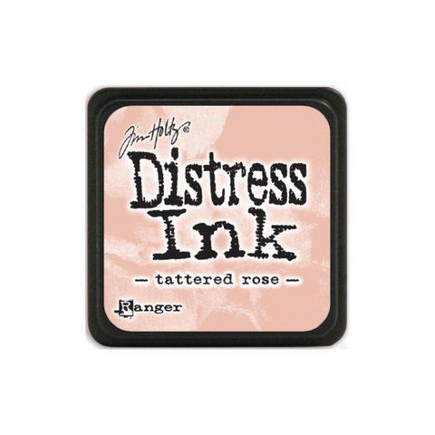 Mini Distress Ink Pad - Tattered Rose