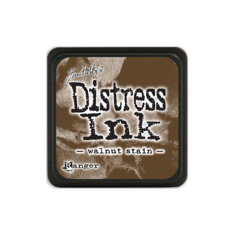 Mini Distress Ink Pad - Walnut Stain