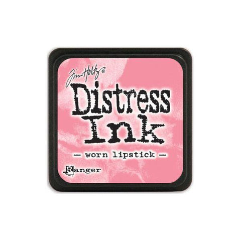 Mini Distress Ink Pad -  Worn Lipstick