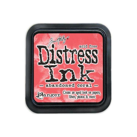 Mini Distress Ink Pad - Abandoned Coral