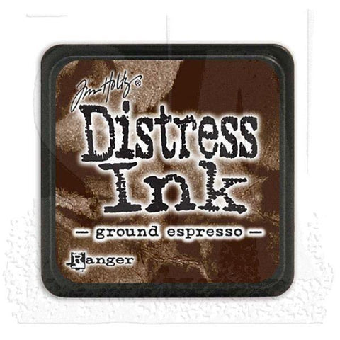 Mini Distress Ink Pad - Ground Espresso