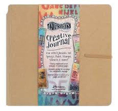 Dylusions Creative Journal, Square, Kraft