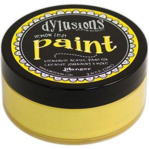 Dylusions Acrylic Paint, Lemon Zest