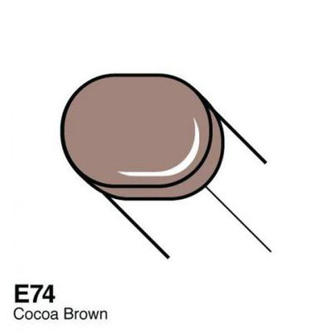 Copic Sketch Marker - E74 - Cocoa Brown