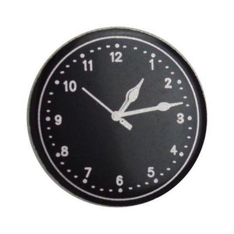 Small Clock Face, Black