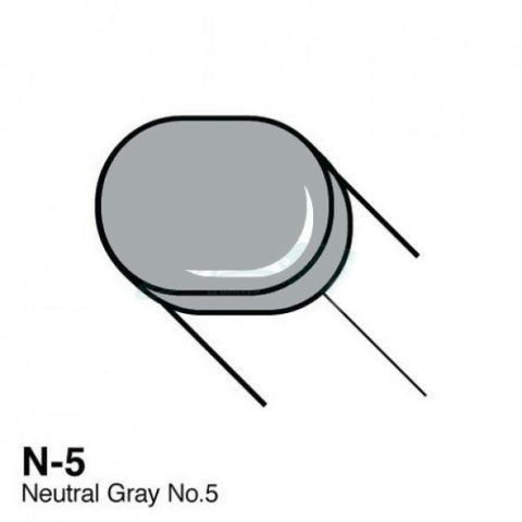 Copic Sketch Marker - N5 - Neutral Gray No. 5
