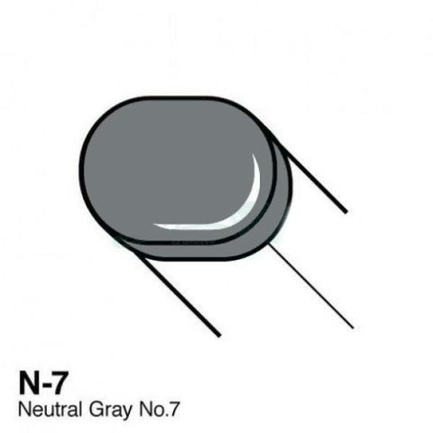 Copic Sketch Marker - N7 - Neutral Gray No. 7