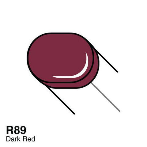 Copic Sketch Marker - R89 - Dark Red