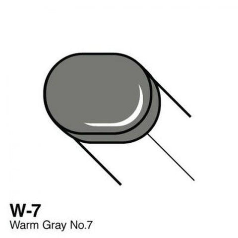 Copic Sketch Marker - W7 - Warm Gray No. 7