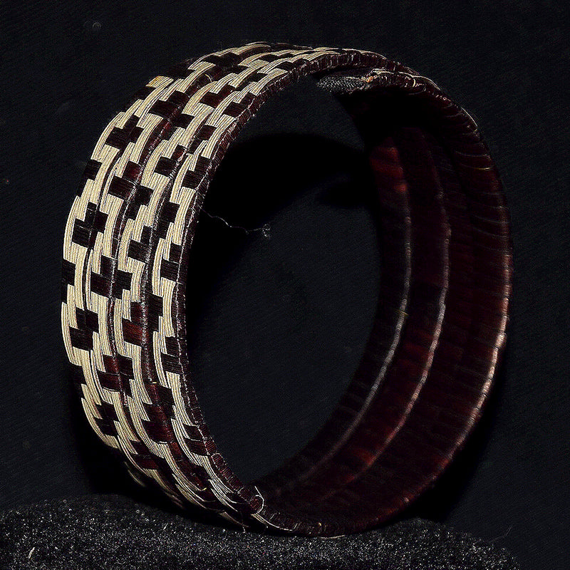 Caña flecha wrap-a-around spiral bracelet