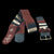 GS02A : Fair-trade hand-made Amazon guitar strap - coral snake model