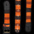 GS02B : Fair-trade hand-made Amazon guitar strap - coral snake model